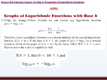 student: HPC: CU 4B: 3.4 Day 2: Properties of Logarithmic Functions