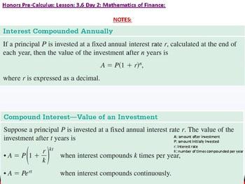 student: HPC: CU 4B: 3.6 Day 2: Mathematics of Finance
