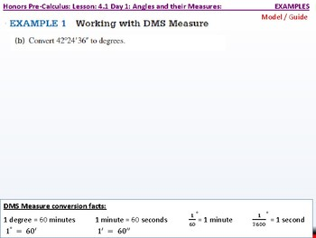 student: HPC: CU 5: 4.1 Day 1: Angles and their Measures