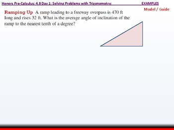 student: HPC: CU 6: 4.8 Day 1: Solving Problems with Trigonometry