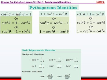 student: HPC: CU 7A: 5.1 Day 1: Fundamental Identities