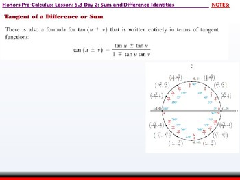 student: HPC: CU 7A: 5.3 Day 2: Sum and Difference Identities