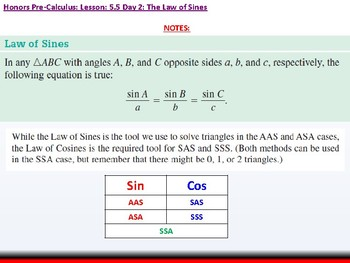 student: HPC: CU 7B: 5.5 Day 2: The Law of Sines