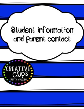 student and parent info **SPANISH AND ENGLISH**