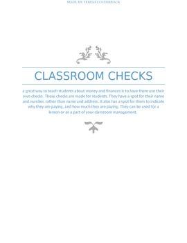 student checks
