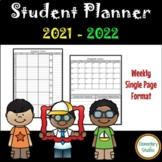 Student Planner 2019-2020