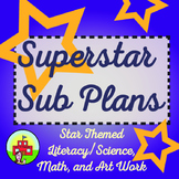 Sub Plans-Star Themed