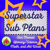 Sub Plans-Star Themed