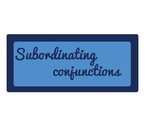 suboardinating conjunction