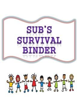 sub's survival binder
