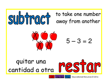 subtract/restar prim 1-way blue/rojo