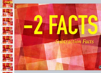 subtraction Fact Keynote: Minus 2 Strategy