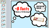 subtraction Fact Keynote: Minus 8 Strategy