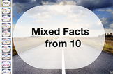 subtraction Fact Keynote: Mixed Facts From 10