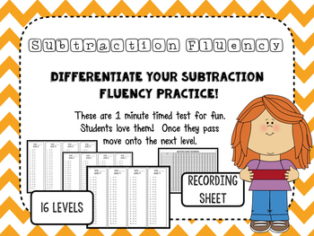 subtraction fluency