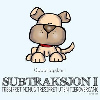 subtraksjon I (oppdragskort)