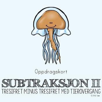subtraksjon II (oppdragskort)