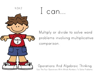 suess Theme 4th Fourth Common Core Posters Math Mathematics Posters