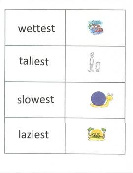 suffix word work -est