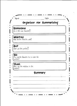 summarizing sheet