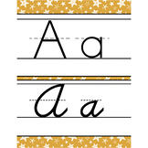 summer PAISLEY - Classroom Decor - Alphabet, Handwriting,