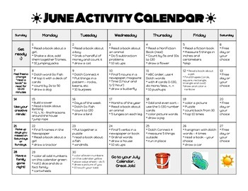 summer activity packet - math, reading, and more for the summer!