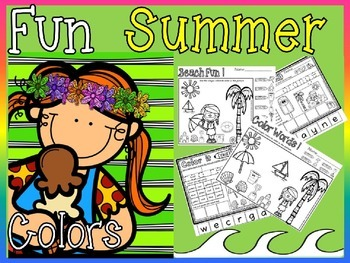 color words for summer