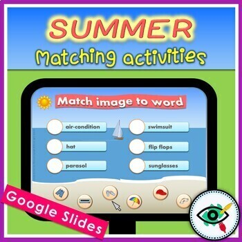 Summer- match image to word
