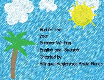 spanish summer writing