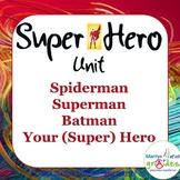 Super Hero Classroom Themed Pack - Worksheets & Activities