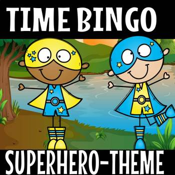 superhero time bingo