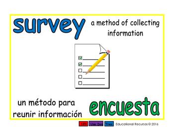 survey/encuesta prim 1-way blue/verde