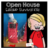 survival kit note for Open House Night