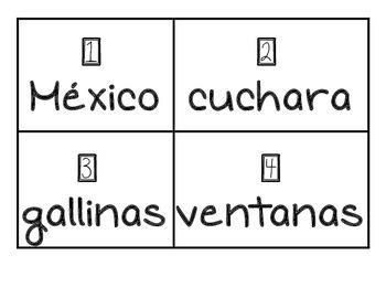sustantivos comunes y propios/ common and proper nouns