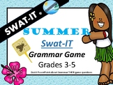 swat-it game for GRAMMAR end of the year review #hoppyhalfdeals
