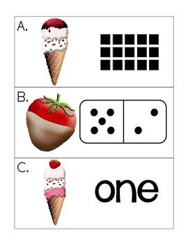 sweet treats: multiple representations write the room