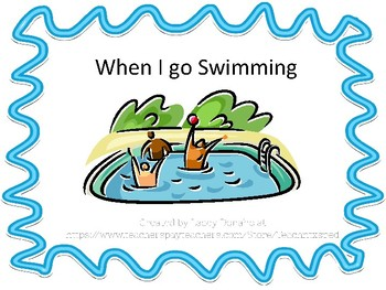 swimming adapted book