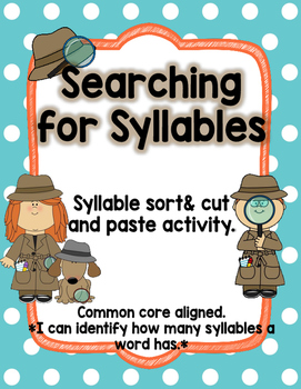 syllable sort-everyday