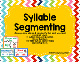 syllables- syllable segmenting