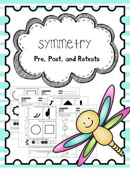 symmetry pretest, posttest, and retest