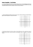 system of inequalities/ simultaneous inequality word problems
