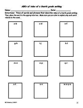 tales of a fourth grade nothing test bundle - two tests plus extras!