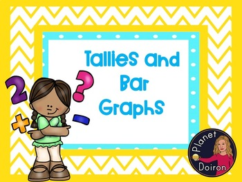 tallies and bar graphing math activity