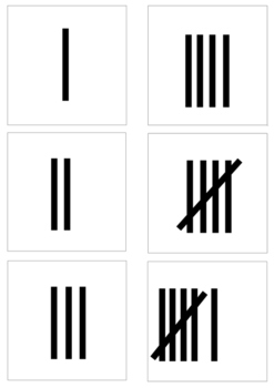 tally chart - learning to count, numbers - math for beginners