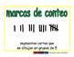 tally marks/marcas de conteo prim 2-way blue/verde