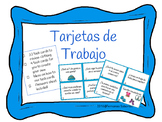 Tarjetas de Trabajo - task cards - la ropa - spanish