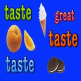 Taste Song! A 5 senses sing-along music video!