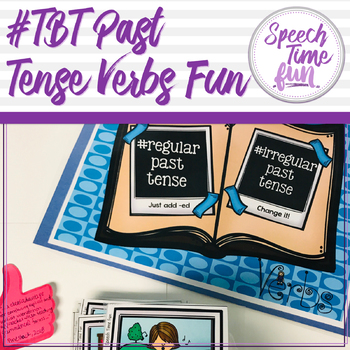 #tbt Past Tense Verbs Fun
