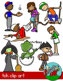 Phonics TCH / Word Families Clip art
