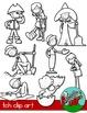 Phonics TCH / Word Families Clip art